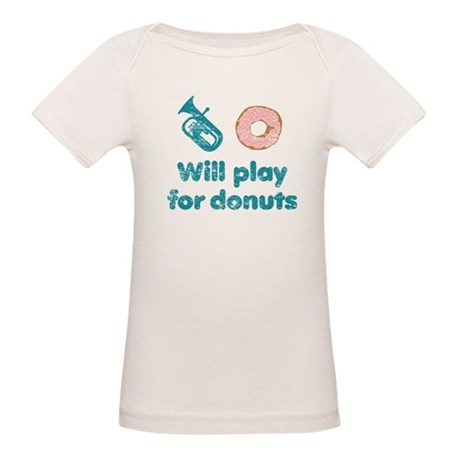 Will Play Baritone for Donuts Organic Baby T-Shirt