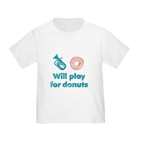 Will Play Baritone for Donuts Toddler T-Shirt