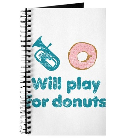 Will Play Baritone for Donuts Journal