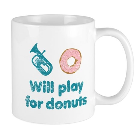 Will Play Baritone for Donuts Mug