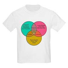 Jesus Zombie Dracula Frankens T-Shirt