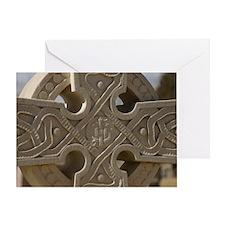 Celtic Cross Greeting Card