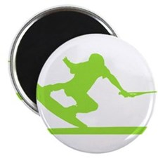 "Green Wakeboard Nose Press 2.25"" Magnet (100 pack)"