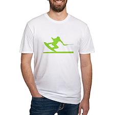 Green Wakeboard Nose Press Shirt