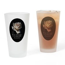 THE WHITE ROSE SOCIETY Drinking Glass