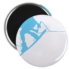 "Blue Wakeboard Back Spin 2.25"" Magnet (10 pack)"