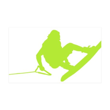 Green Wakeboard 360 Handle Pa 38.5 x 24.5 Wall Pee