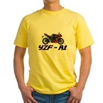 2011 Yamaha YZF-R1 Yellow T-Shirt