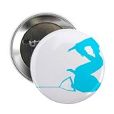Blue Wakeboard Invert Handle 2.25&quot; Button