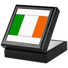 Ireland Irish Blank Flag Keepsake Box