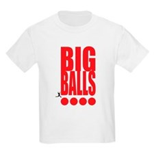 Big Red Big Balls Kids Light T-Shirt