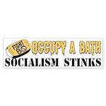 """""""Occupy A Bath"""" Sticker (Bumper)"""