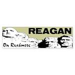 """""""Reagan On Rushmore"""" Sticker (Bumper)"""