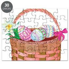 Unique Easter basket Puzzle
