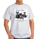 """Spay or Neuter Your Pet"" Ash Grey T-Shirt"