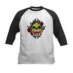 Sugar Skull Kids Baseball Jersey