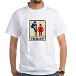 TOILET Sign 1-sided T-shirt