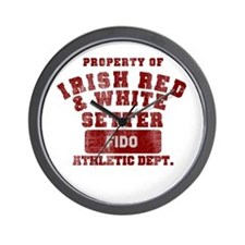 Personalizable IRWS Athletic Dept Wall Clock