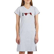 I Heart IRWS Women's Nightshirt