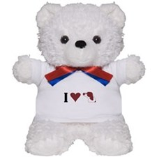 I Heart IRWS Teddy Bear