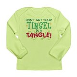 TINSEL IN A TANGLE Long Sleeve Infant T-Shirt