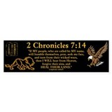 2 Chr 7:14 Lion - Car Sticker