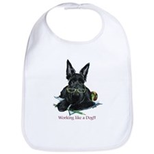 Working Scottie Bib