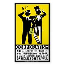 Corporatism Decal