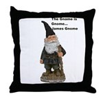 James Gnome Throw Pillow
