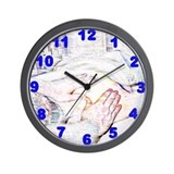 Unique Massage therapist Wall Clock