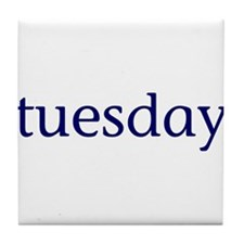 Tuesday Tile Coaster