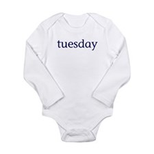 Tuesday Long Sleeve Infant Bodysuit