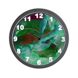 Kneading Wall Clock