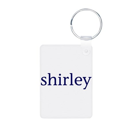 Shirley Aluminum Photo Keychain