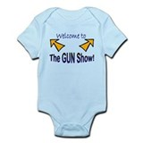 """Gun Show"" Infant Bodysuit"