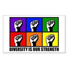 """Diversity"" Rectangle Decal"
