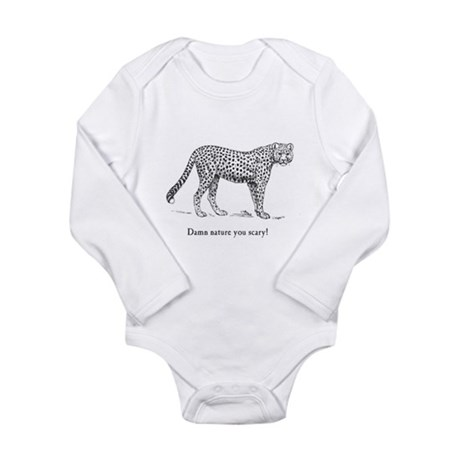 Damn Nature You Scary Long Sleeve Infant Bodysuit