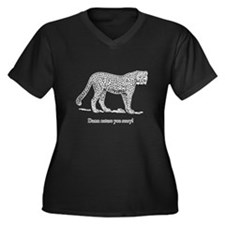 Damn Nature You Scary Women's Plus Size V-Neck Dar