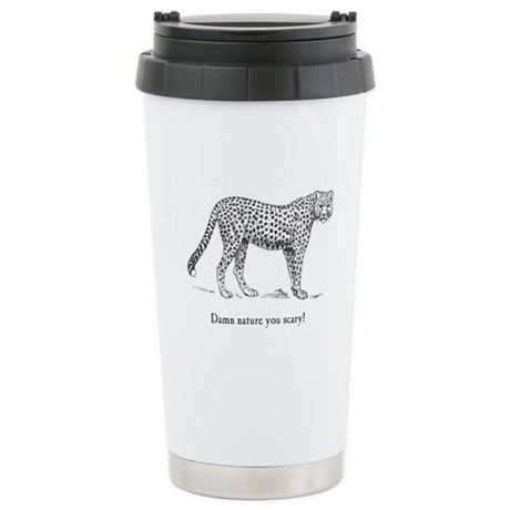 Damn Nature You Scary Ceramic Travel Mug