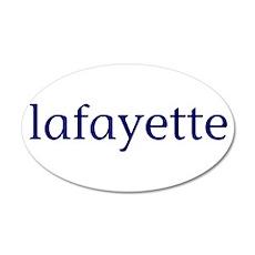 Lafayette 22x14 Oval Wall Peel