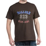 """WEST SIDE BALLERZ 323"" Black T-Shirt"
