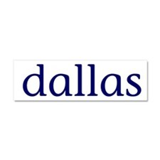Dallas Car Magnet 10 x 3
