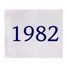 1982 Throw Blanket