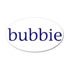 Bubbie 22x14 Oval Wall Peel
