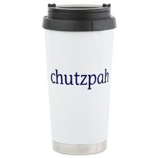Chutzpah Travel Mug