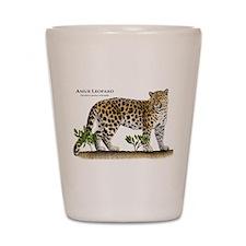 Amur Leopard Shot Glass