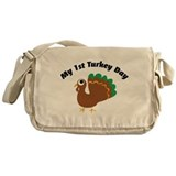 My 1st Turkey Day Messenger Bag
