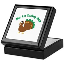My 1st Turkey Day Keepsake Box