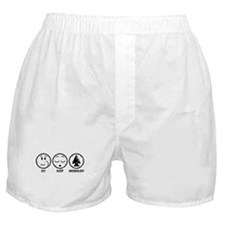 Eat Sleep Archaeology Boxer Shorts