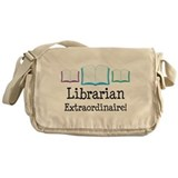 Cool Library volunteer Messenger Bag